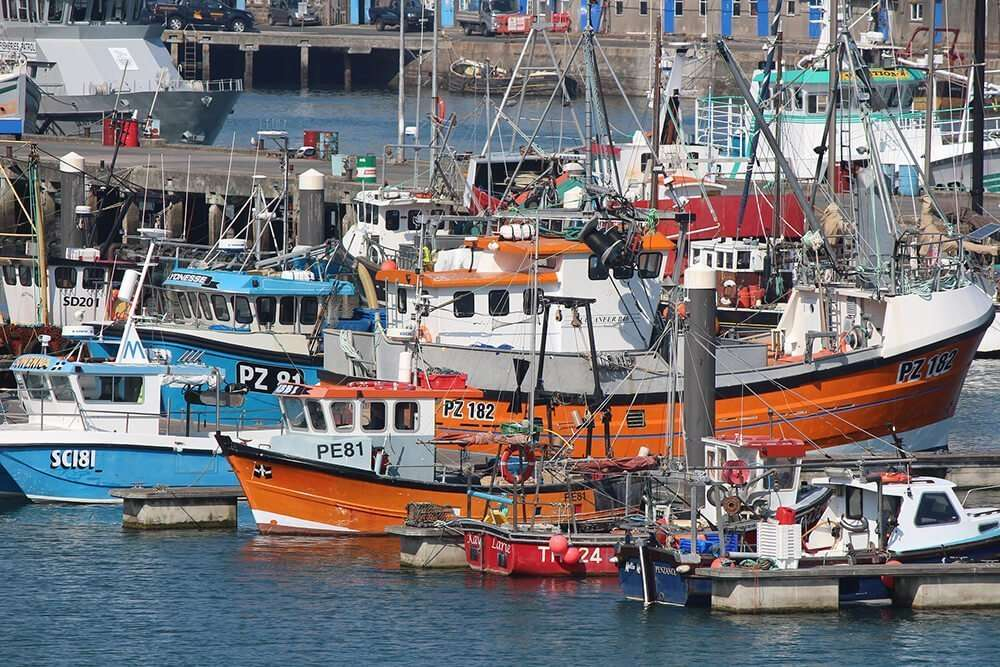 Sustainable fishing - fishing boats