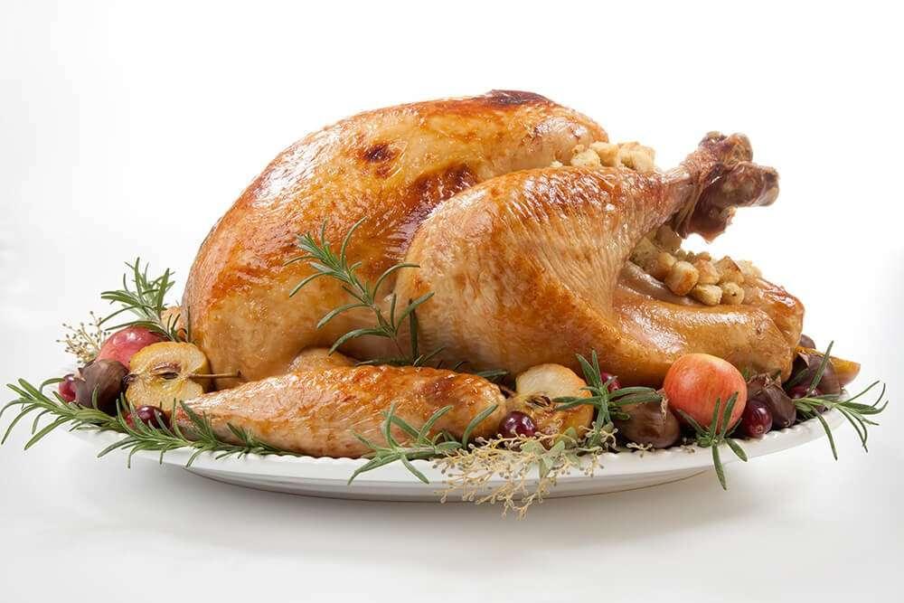 Roast Turkey - Christmas Dinner