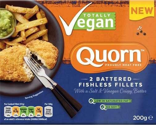 Quorn Vegan Fillet