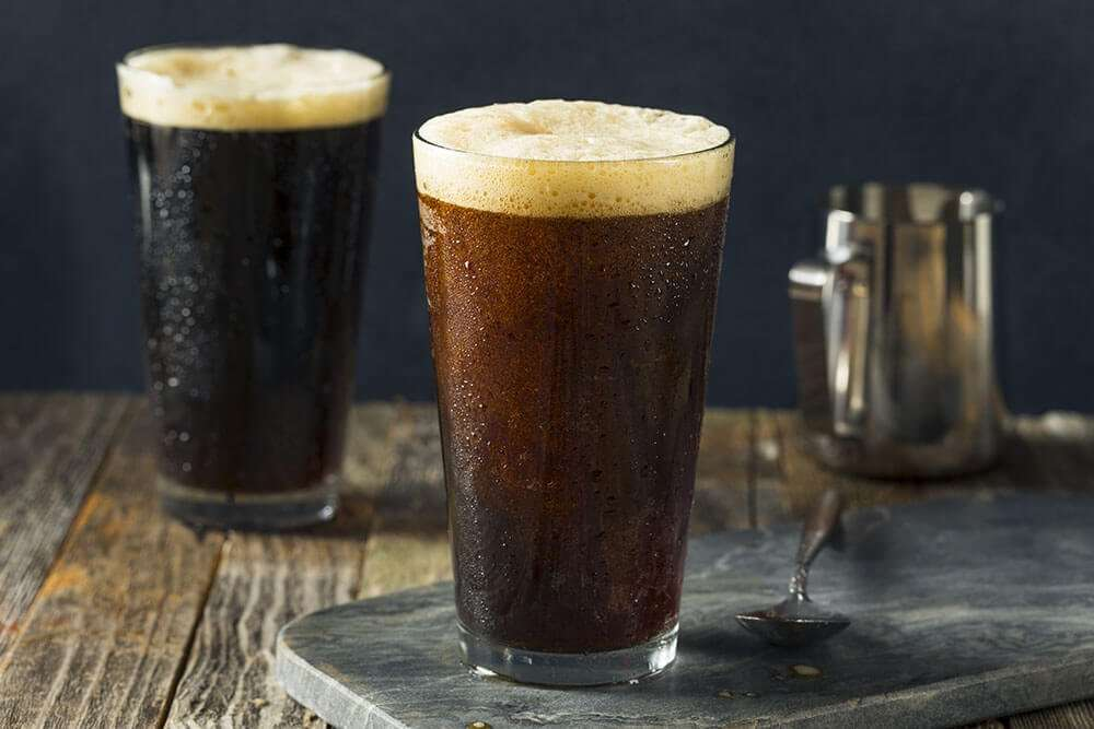 Frothy Nitro Coffee
